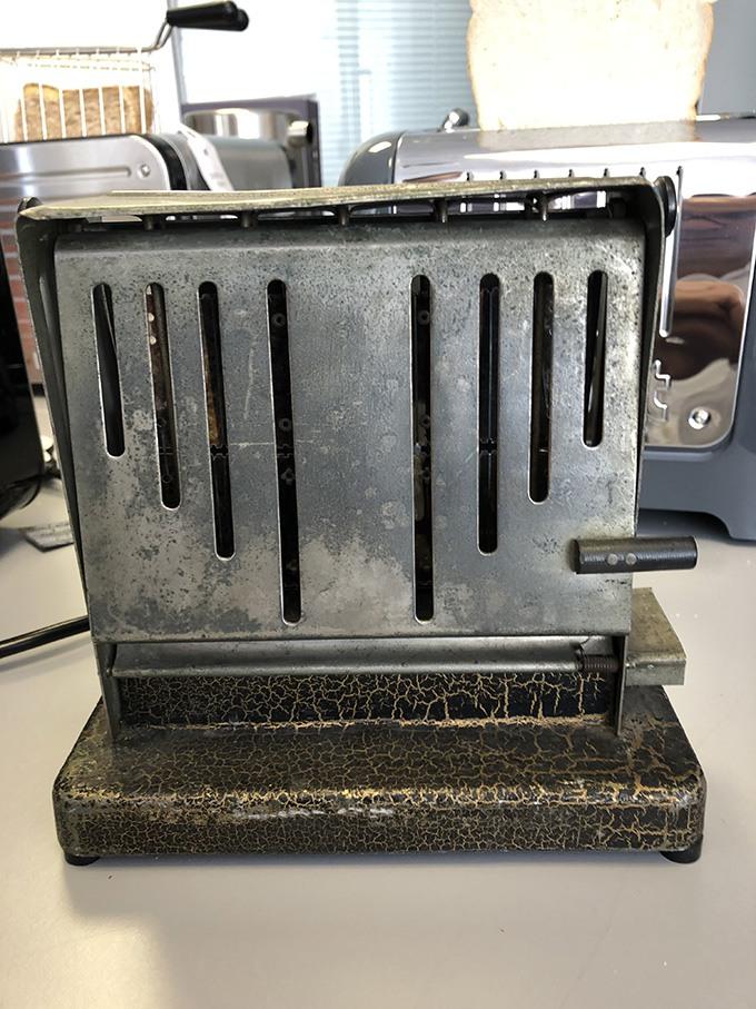 The original Dualit toaster