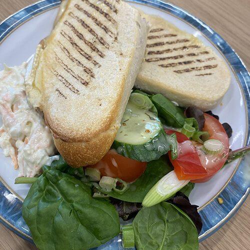 Light Lunch at Harts Coffee Loft