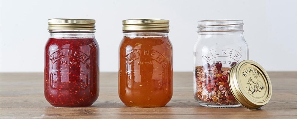 Preserve/Jam Jars & Bottles
