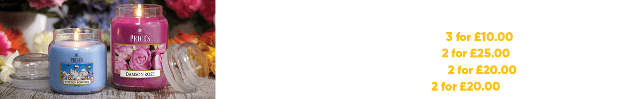 Prices Candles Offers