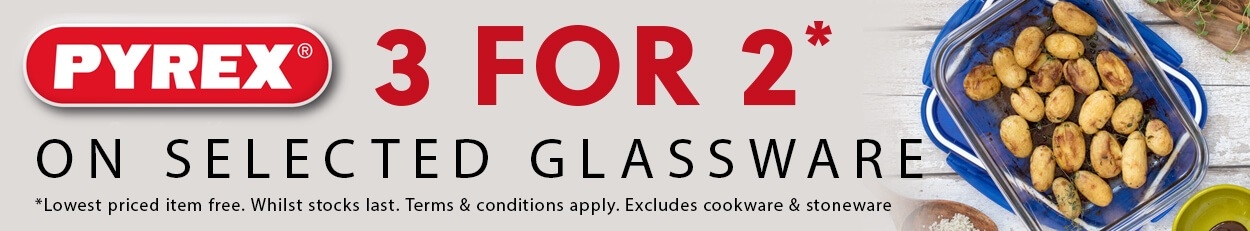 Pyrex 3 For 2 Offers
