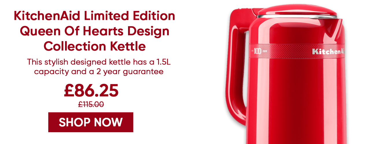 KitchenAid Queen Of Hearts Design Collection Kettle