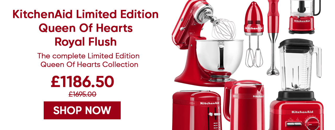 KitchenAid Queen Of Hearts Royal Flush