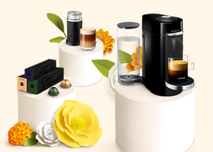 Nespresso Vertuo Promotion Spring 2021