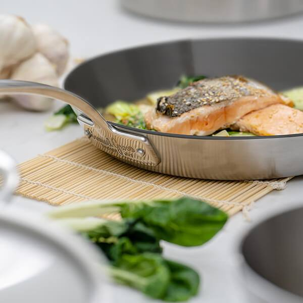 Samuel Groves Classic Non-Stick Stainless Steel Cookware