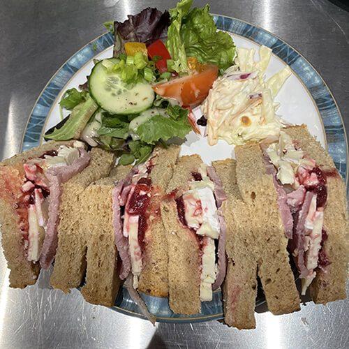 Sandwiches at Harts Coffee Loft