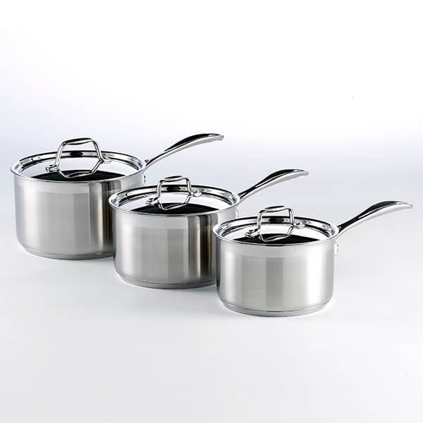 Stoven Professional Induction Stainless Steel Saucepans