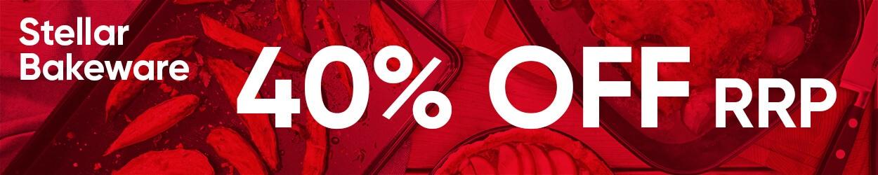 40% Off Stellar Bakeware