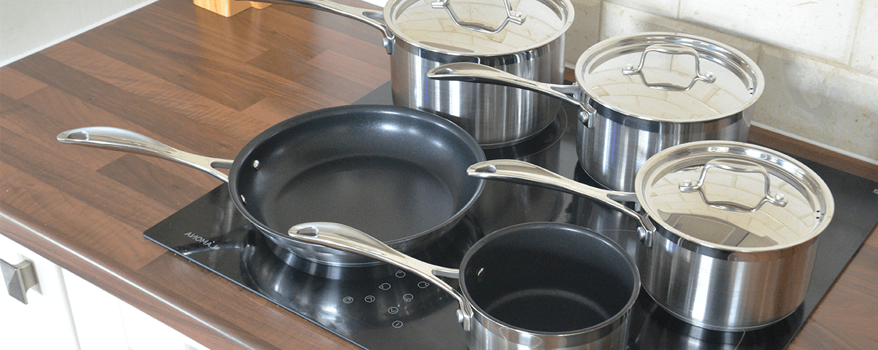 Stoven Professional Induction Stainless Steel Cookware Set