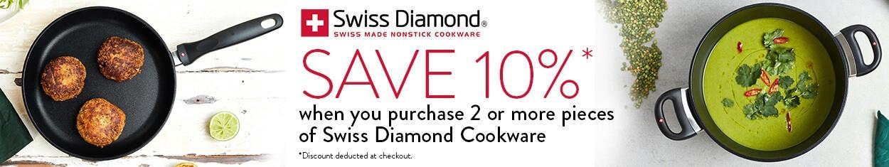 Swiss Diamond - Save 10% When Purchasing 2+ Items