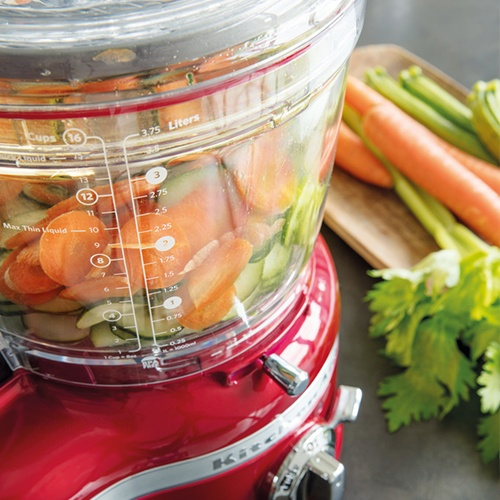 KitchenAid Artisan 4L Food Processor versatility