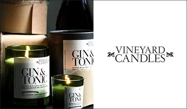 Vineyard Candles Made in Britain
