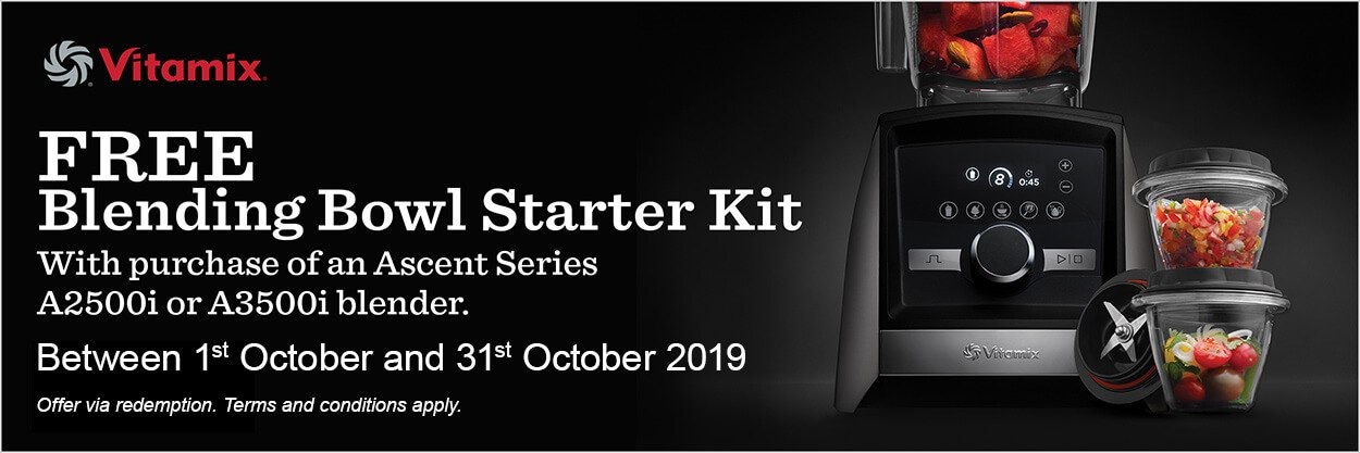 Vitamix October 2019 Promotion