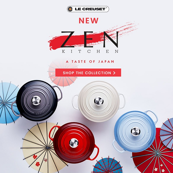 Le Creuset Zen Kitchen